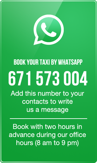 taxis Valencia Whatsapp